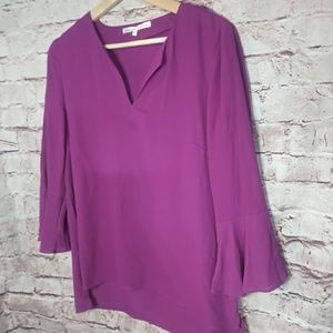 Violet and Claire sheer blouse